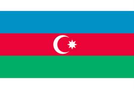 Aserbajdsjan flag