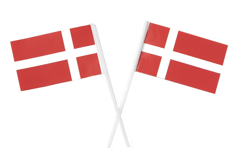 Papirflag, dannebrog, kageflag, fødselsdag