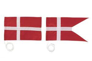 bordflag, dannebrog, stutflag, splitflag