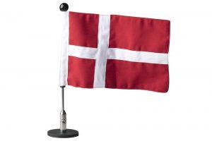 bilflag, bilflagstang med flag, dannebrogsflag, bryllupskørsel, festflag